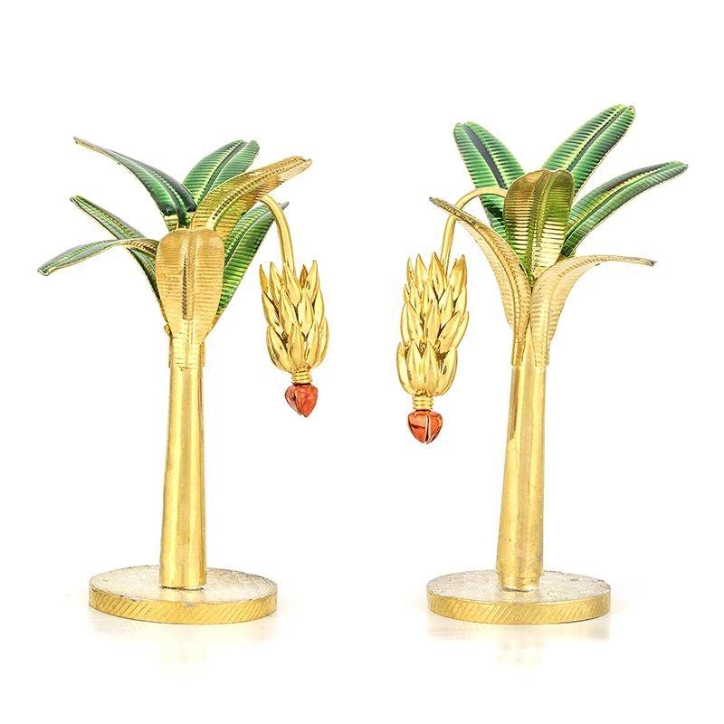 Banana Plant Gold Plated