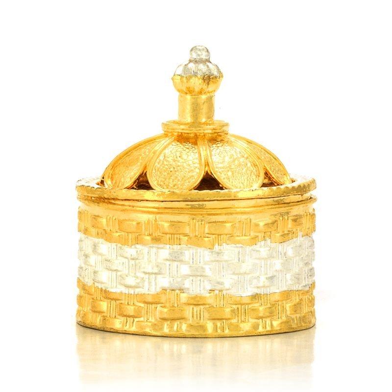 Gold Polish kumkum Box 2