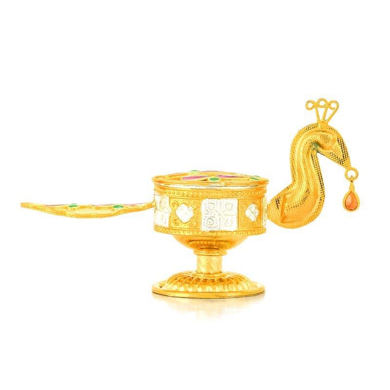Gold Polish kumkum Box 6