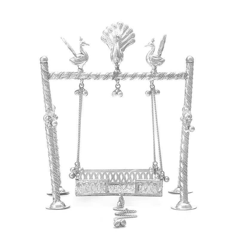 PURE SILVER SWING FOR BABY KRISHNA