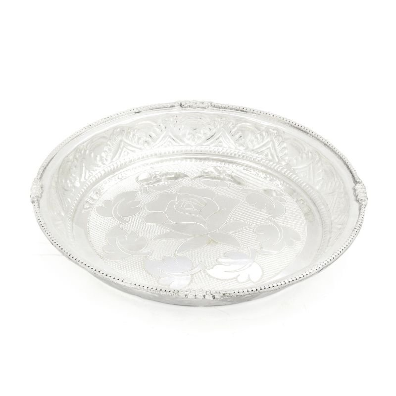 Silver Nagas Plate
