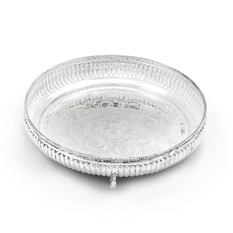 925 PURE SILVER NAGAS PLATE  FOR POOJA