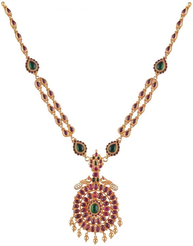 GOLD NECKLACE FOR GIRLS