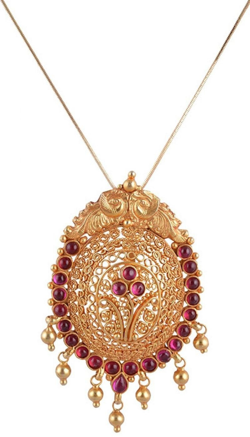 NAGAAS GOLD NECKLACE FOR WOMEN