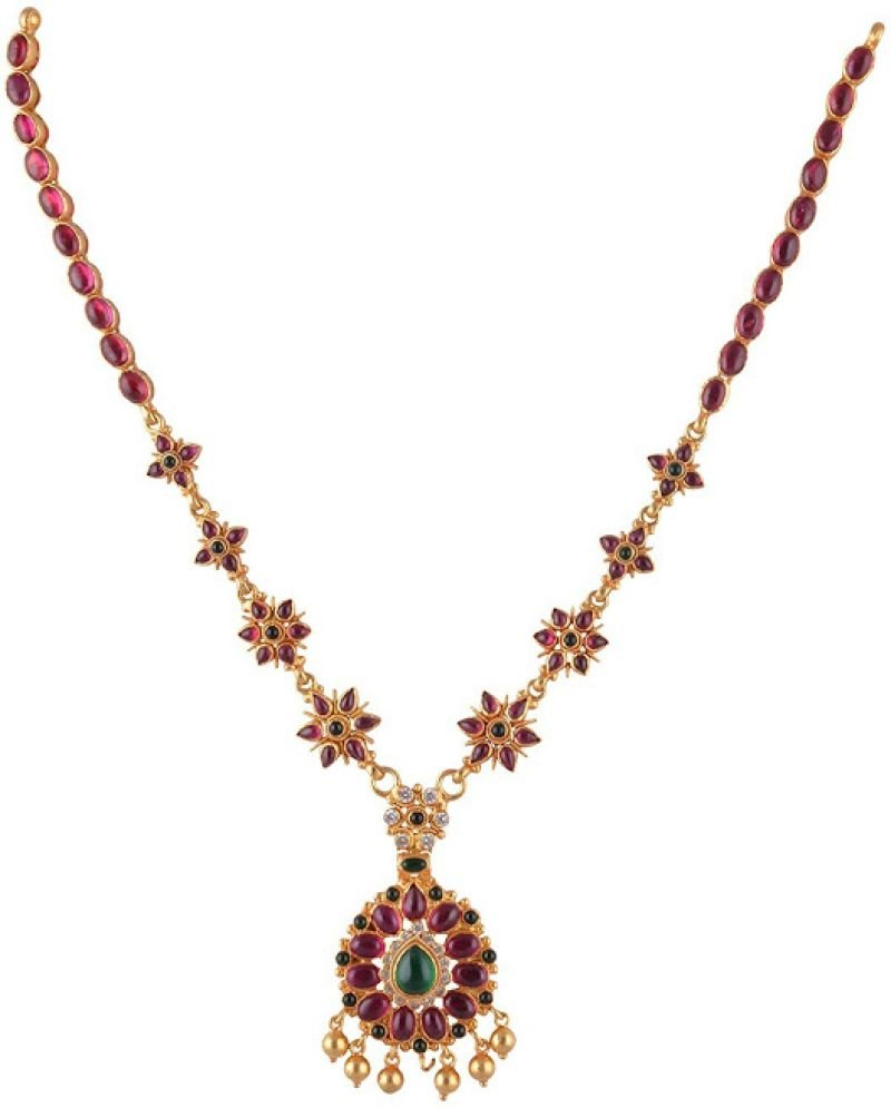 TRADITIONAL GOLD NECKLACE  FOR BRIDAL