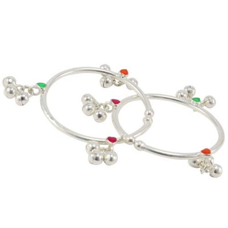 92.5 SILVER ANKLETS FOR BABY
